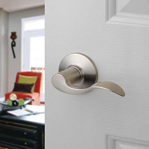 Dynasty Hardware Heritage Lever Passage Nickel, Contractor Pack