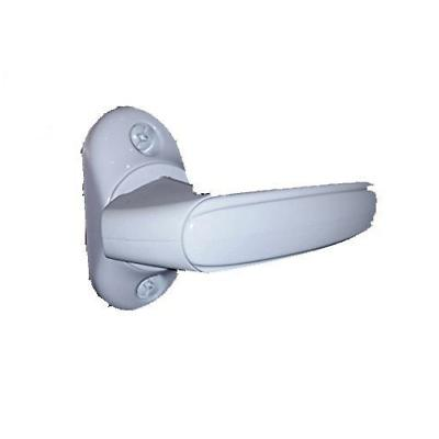 inside handle storm door latch white free