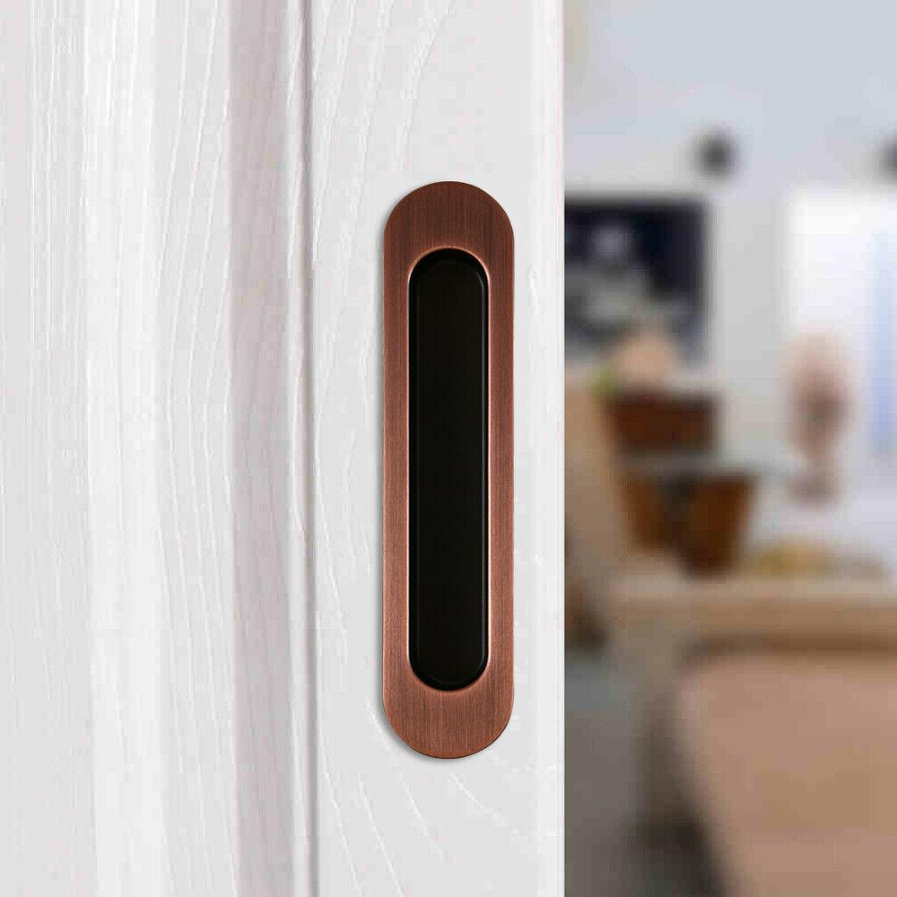 Invisible Handle for Wood Gate Doors