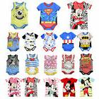 Kids Newborn Baby Boy Girl Romper Jumpsuit Bodysuit Marvel H