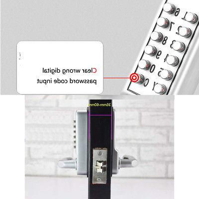 Mechanical Security Code Button Handle