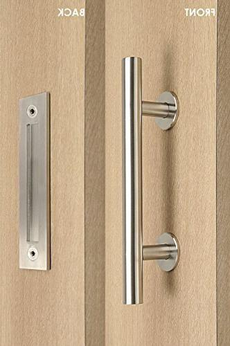 modern contemporary pull flush door