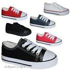 New Baby Toddler Boys Girls Low Classic Canvas Tennis Shoes