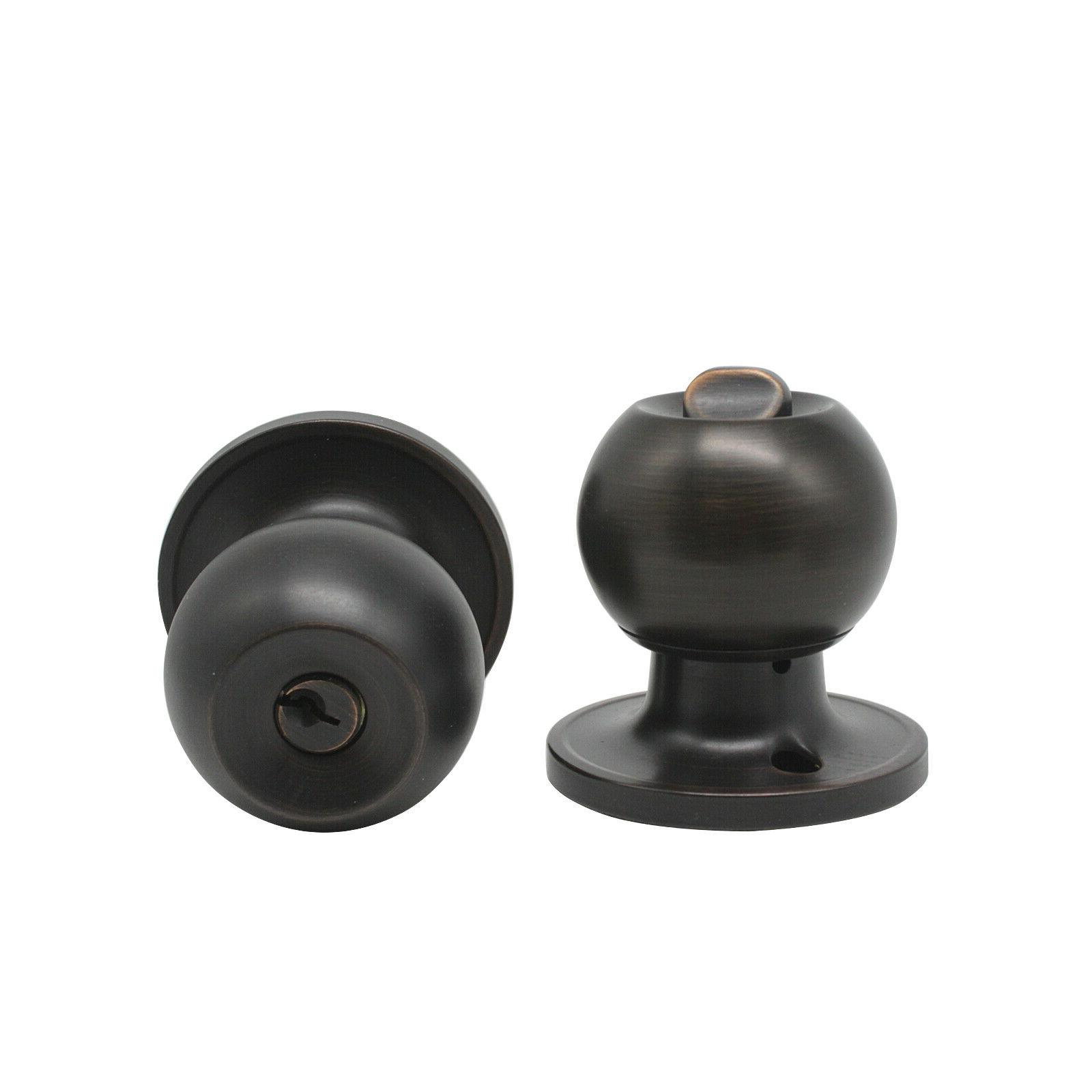 Oil Rubbed Bronze Handle Entry Passage