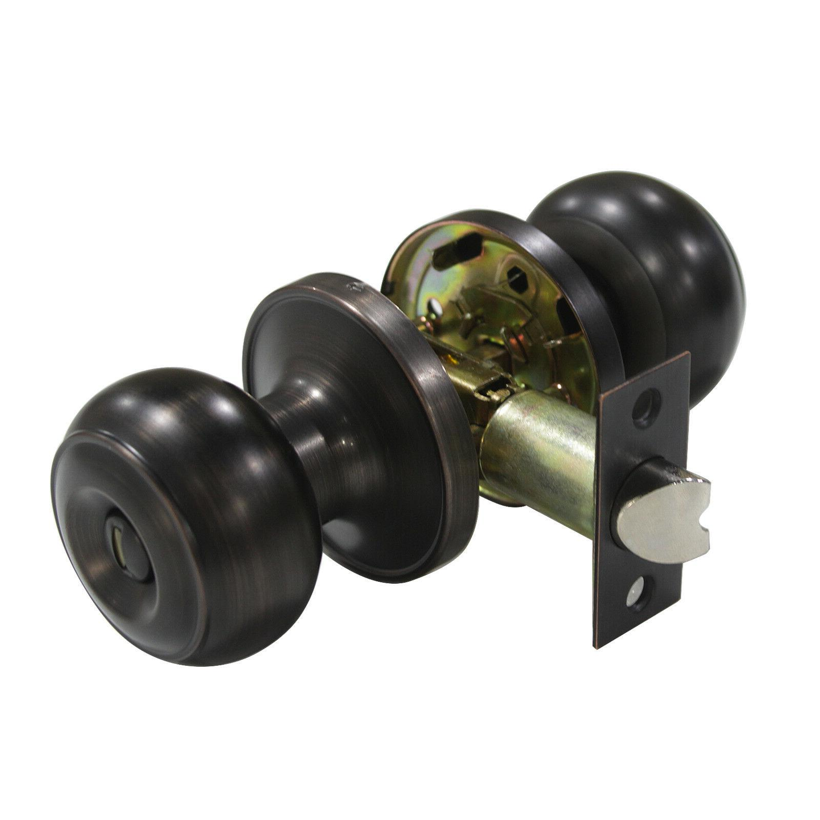 Oil Rubbed Knobs Entry Keyless Dummy