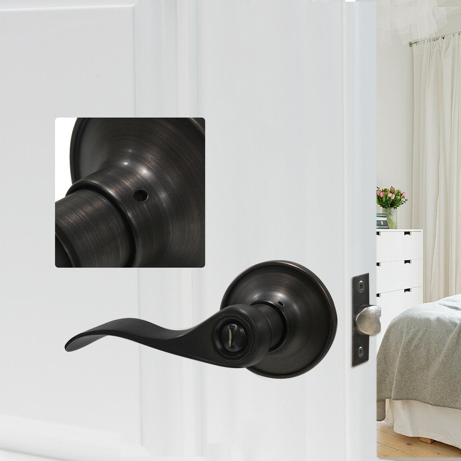 Oil Door Lever Entry/Passage Knobs