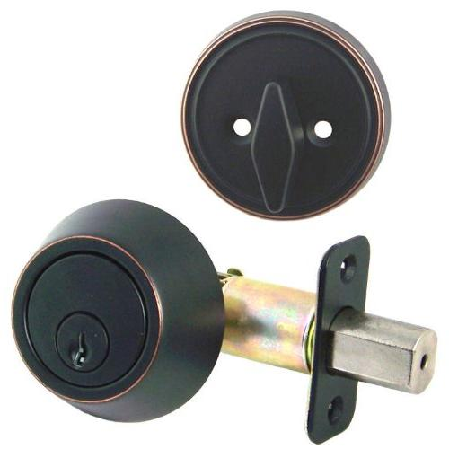 oil rubbed bronze single cylinder