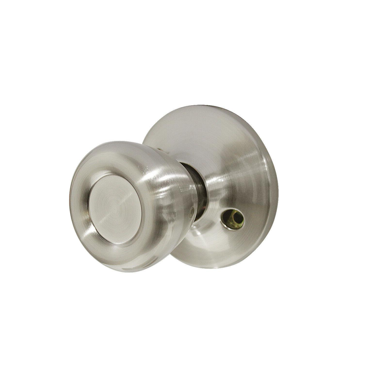 Passage Door and Satin Nickel Locksets