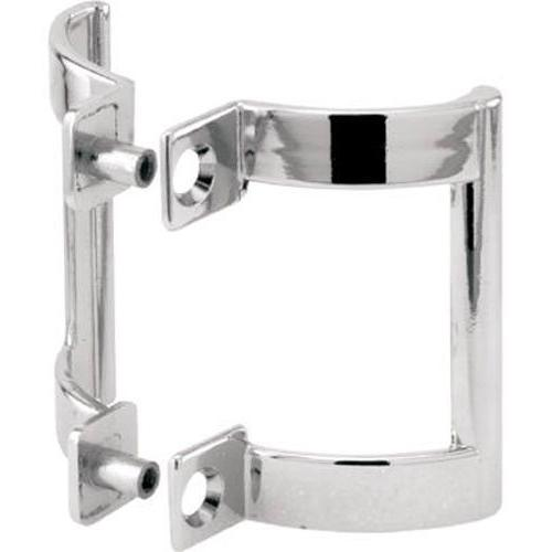 PRIME LINE PRODUCTS Pair Chrome-Plated Finish Shower Door Ha