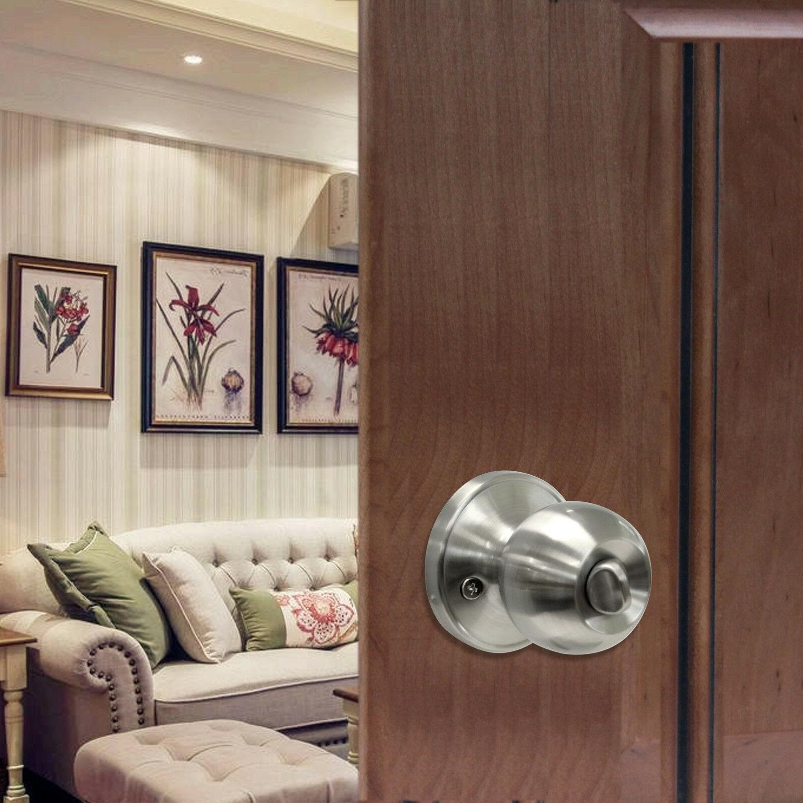Satin Lever Handle Entry/Passage Knobs