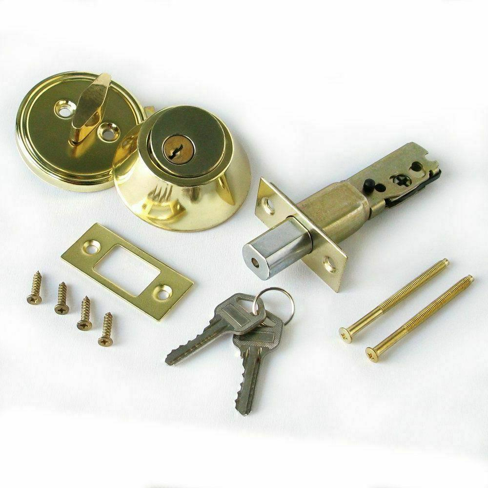 Silver Cylinder Lock Security Home keys
