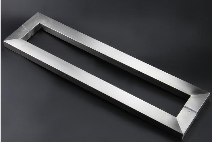 Square Pull Handle Modern Stainless Steel