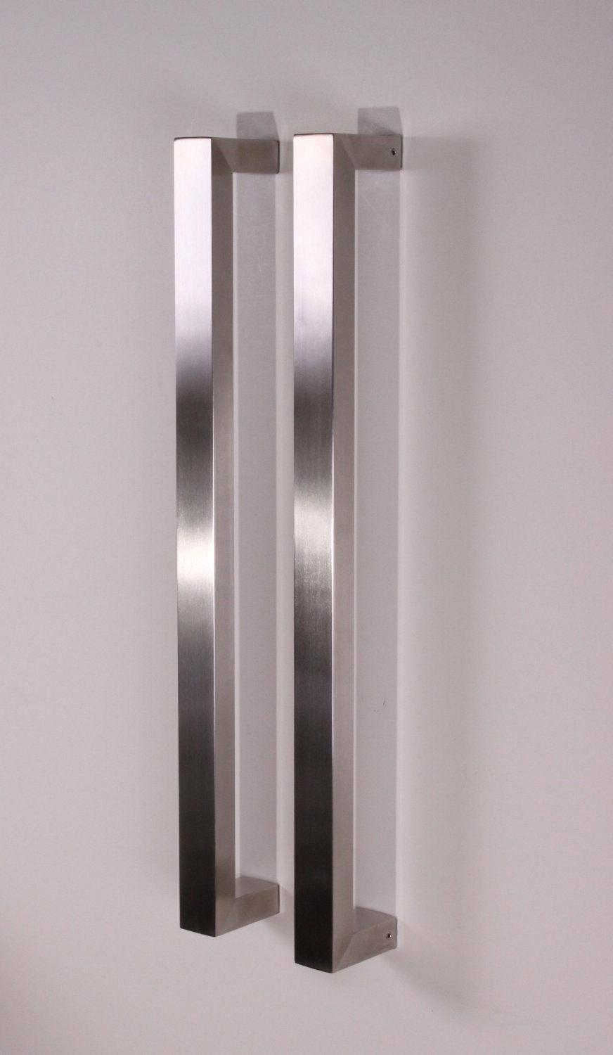 Square Handle Entry Stainless