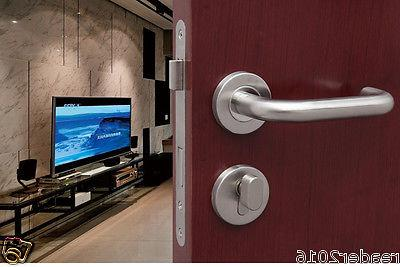 Stainless 304 lever door room pull