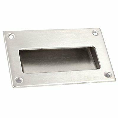 stainless steel recessed flush pull