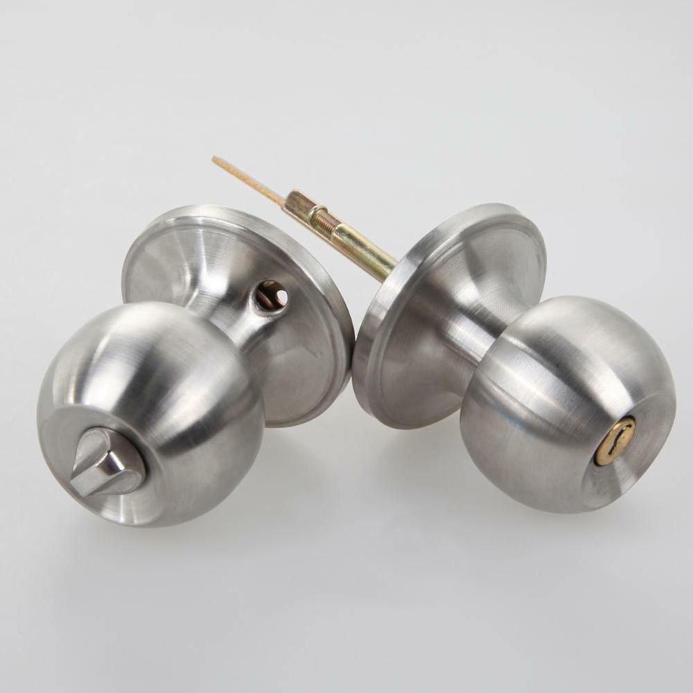 Stainless Knobs Lock Key Set