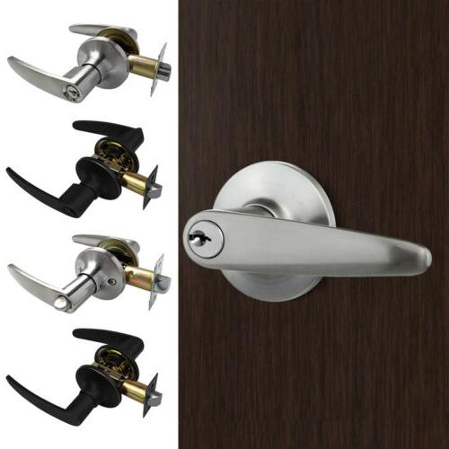 zinc alloy entry lever door lock handle