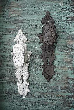 Large Rustic Cast Iron Door Handle Kno  Cast Iron Hanging Ho