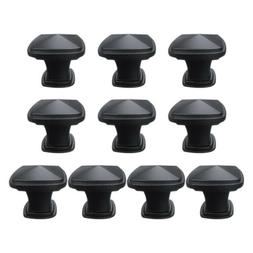 Lot 10 Square Pyramid Cabinet Handle Door Pull Drawer Knob H