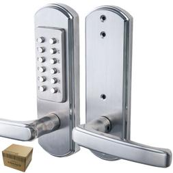 Mechanical Door Lock Keyless Keypad Digital Code Entry Combi