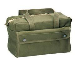 Rothco G.I. Type Mechanics Tool Bag With Brass Zipper, Olive