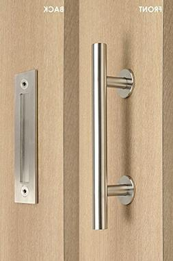 STRONGAR Modern and Contemporary Pull and Flush Door Handle