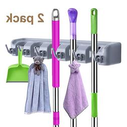 mop broom holder wall mounted