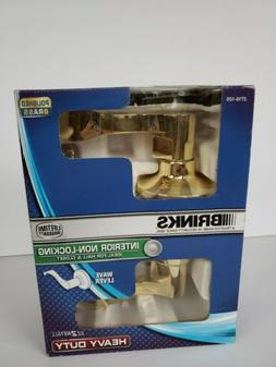 New in Box Brinks Wave Lever Handle Handleset Interior Non-L