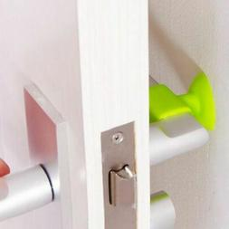 New Silicone Suction Cup Door Handle Protective Mat Without