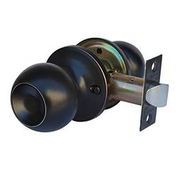 Constructor Chronos Oil Rubbed Bronze Passage Door Knob Hand