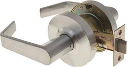Passage Hall and Closet Leverset Lockset - Finish: Satin Chr