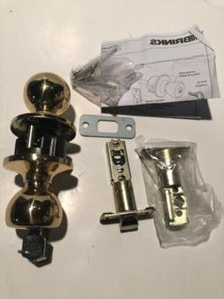 Brinks Polished Brass Door Handle