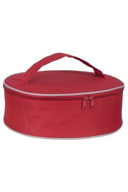 "KAF Home INS 15738 Harold Import Co RED Pie Carrier, 3.5"" x"