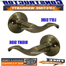 Constructor Prelude Dummy Lever Handle Door Lock Set Antique