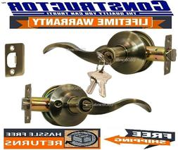 Constructor Prelude Entry Keyed Lever Handle Door Lock Set A