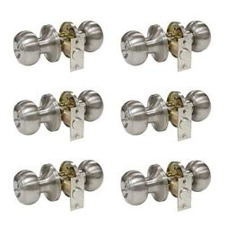 Probrico Privacy Interior Door Knobs Bed and Bath Handle Lev