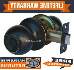 Constructor Privacy Oil Rubbed Bronze Knob Door Lever Lock S