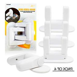Baby Proofing Door Lever Locks -  | Door Handle Child Safety