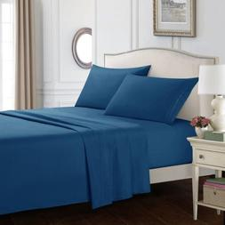 Queen Size Egyptian Comfort 1800 Count 4 Piece Bed Sheet Set