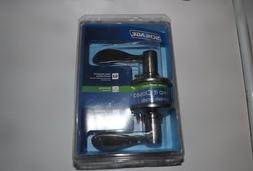 Schlage Lock #F10VACC619 Satin NI Acc Pass Lockset