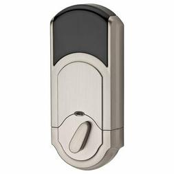 Kwikset Signature 910 Z-Wave Traditional Deadbolt, Satin Nic