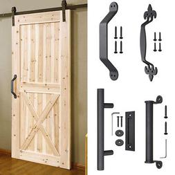 sliding barn door pull flush handle home