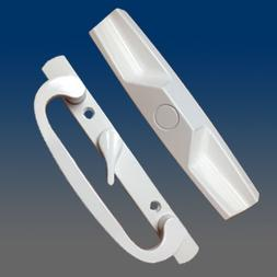 Sliding Glass Door Handle Set PD 1400 WHITE OFFSET