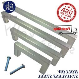 Stainless Steel Kitchen Cabinet Square Pull Bathroom Drawer