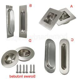 Stainless Steel Recessed Kitchen Cabinet Door Handle Flush F