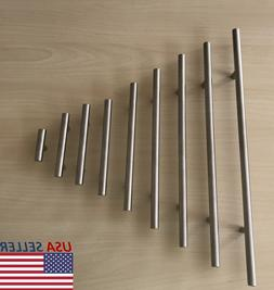 stainless steel t bar modern kitchen cabinet