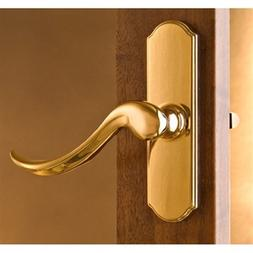Storm Door Lever ONLY Handle Bright Brass-1.00 Inch Thick Do