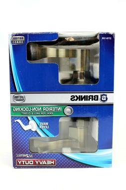 New Brinks Wave Style Door Knob Non-Locking for interior Doo