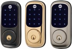 Yale YRD220-NR Real Living Electronic Touch Screen Deadbolt